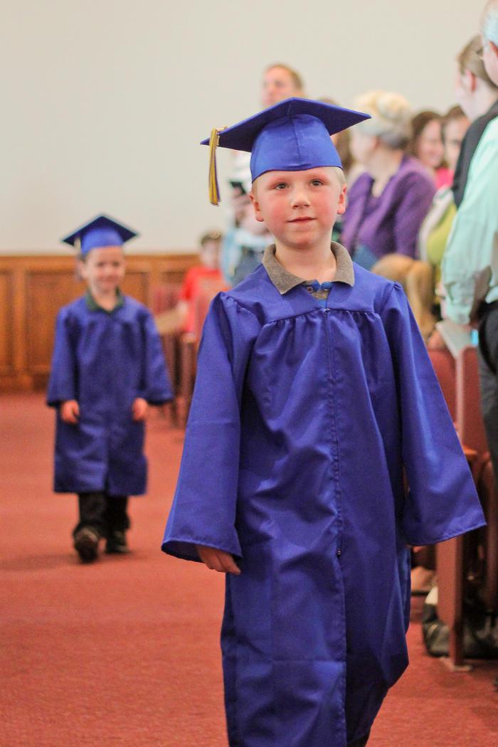 Aldersgate Kindergarten graduation